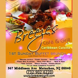 Breezes Cafe 1st Sunday Buffet Brunch