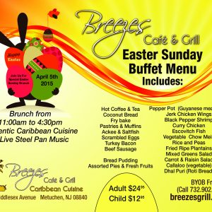 Breezes Cafe - Easter