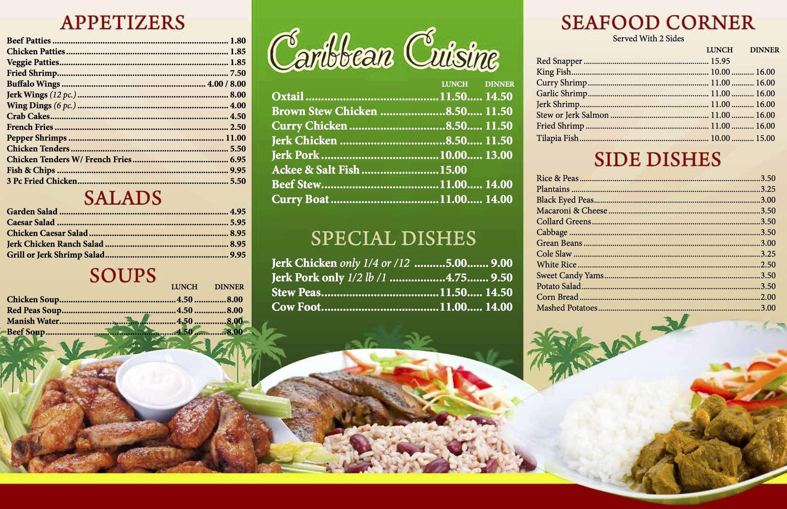 Mama's Caribbean Soul Food