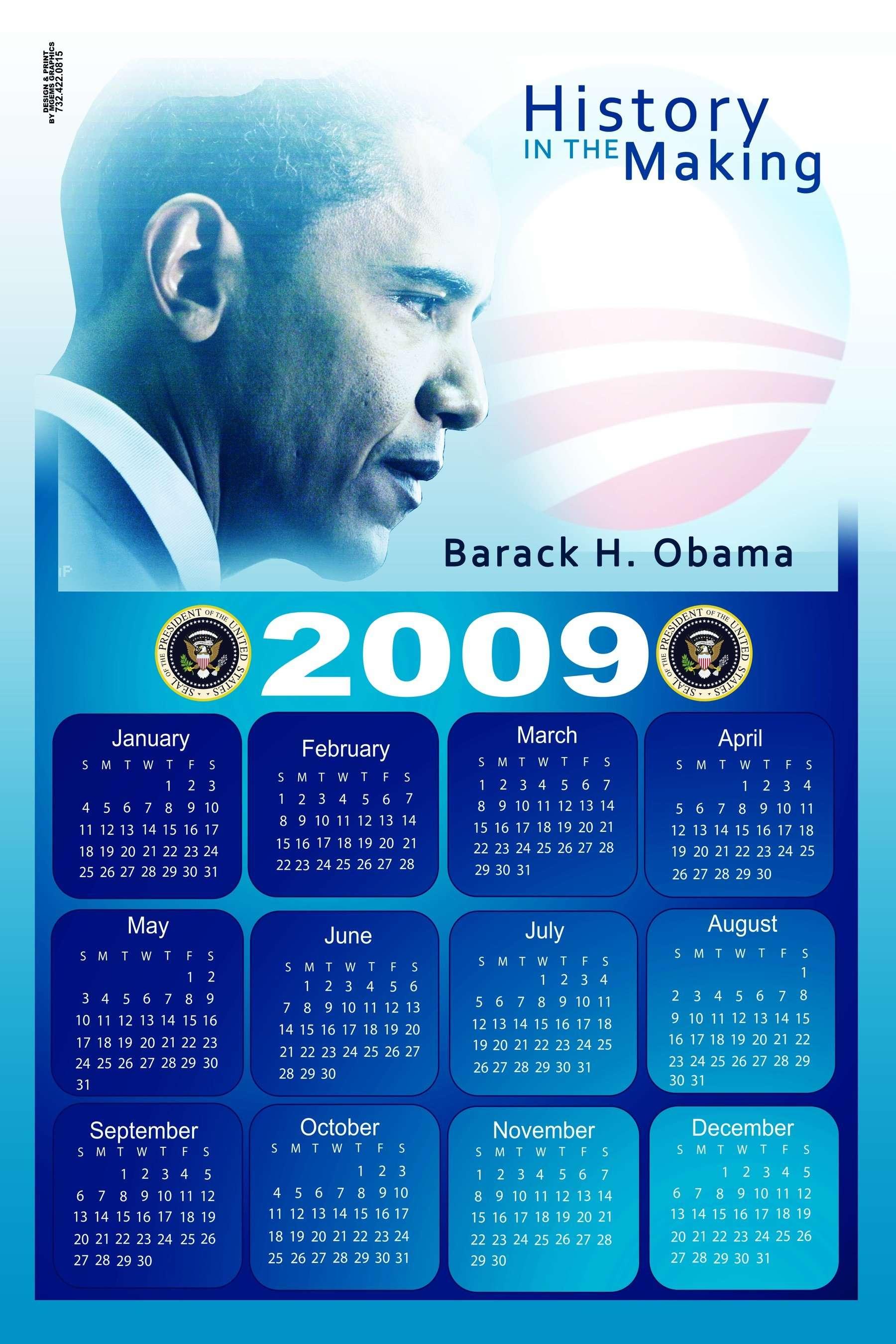 Obama Calendars