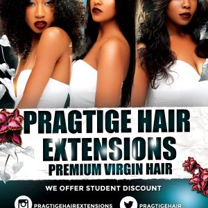 Pragtige Hair Extensions - front