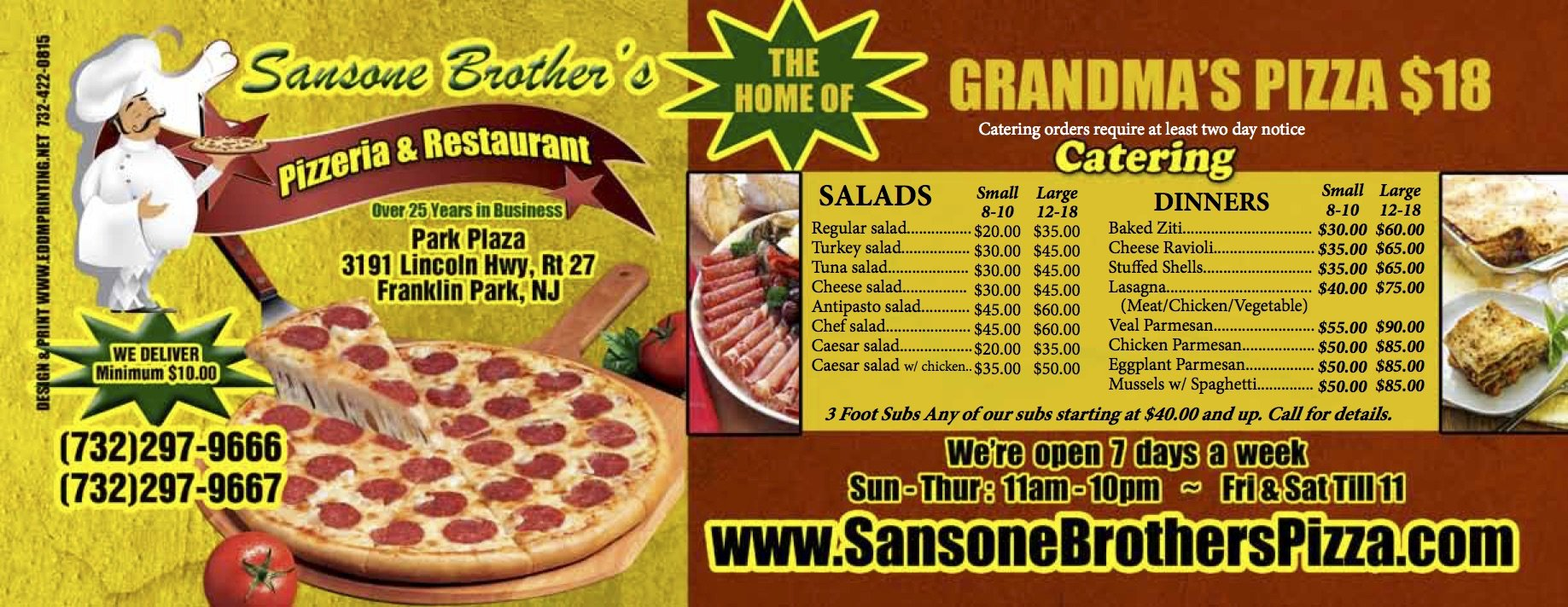 Samson Brother's Pizza