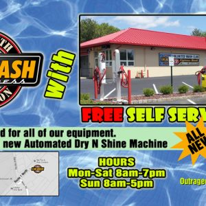monmouth Junction Car Wash front